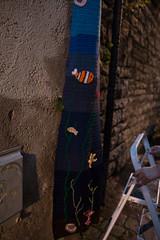Yarn bombing Besançon 02