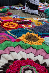 Yarn bombing Besançon 47