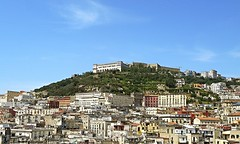 Castle SantElmo and San Martino Museum (Carthusian monastery) in Naples