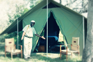 Ranger Dumi Shows You To Your Tent