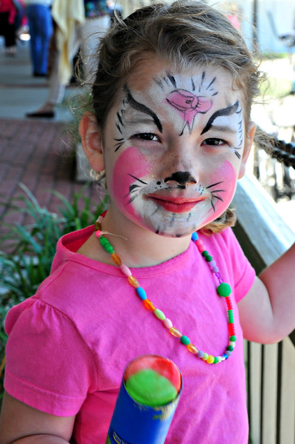 Kitten Face Painting