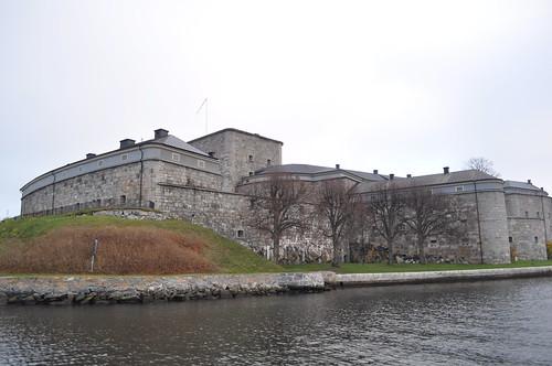 2011.11.12.316 - Stockholms skärgård - VAXHOLM - Strömma Kanalbolaget (Lilla Skärgårdsturen) - Vaxholms fästning