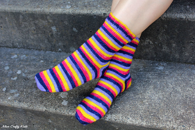 April Showers Socks