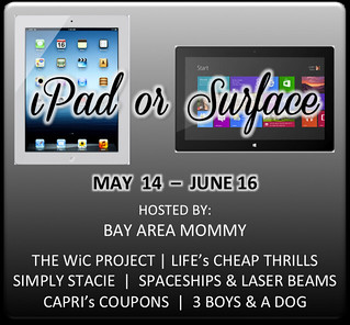 May iPad or Surface Giveaway