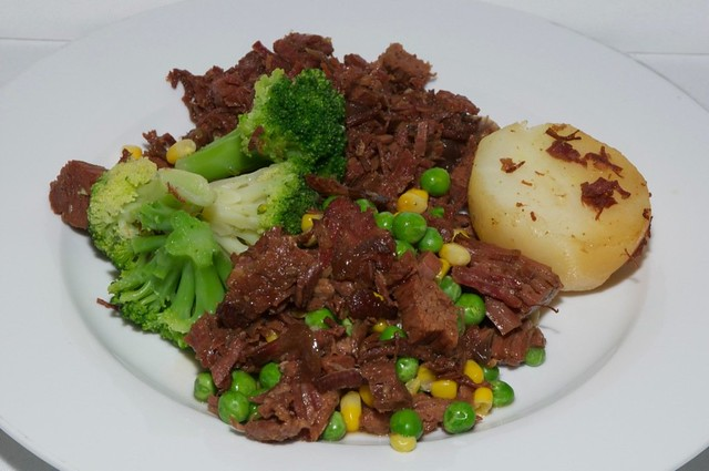 Homemade corned beef hash with vegetables | Flickr - Photo Sharing!
