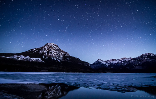 Shooting Star at Kananaskis