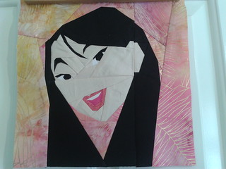 Paper Pieced Mulan
