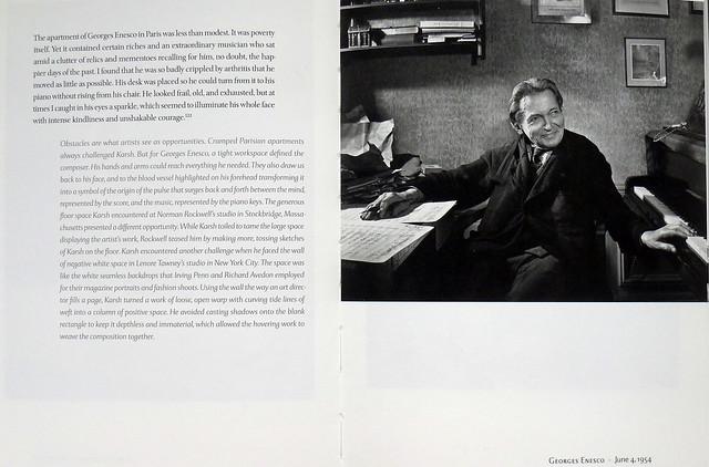 George Enescu, 4 iunie 1954