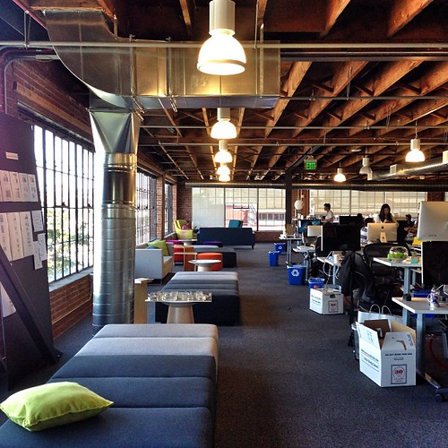 @Pinterest office in San Francisco, great workplace! #architecture #archdaily #pinterest #sanfrancisco #office #workplace #california #startup