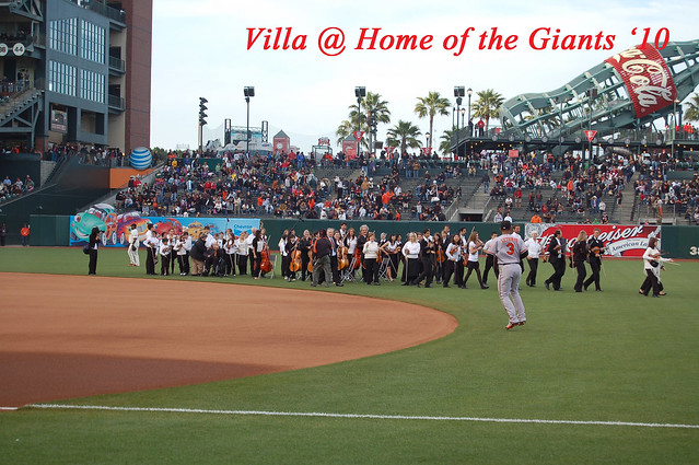 National Anthem @ The Giants