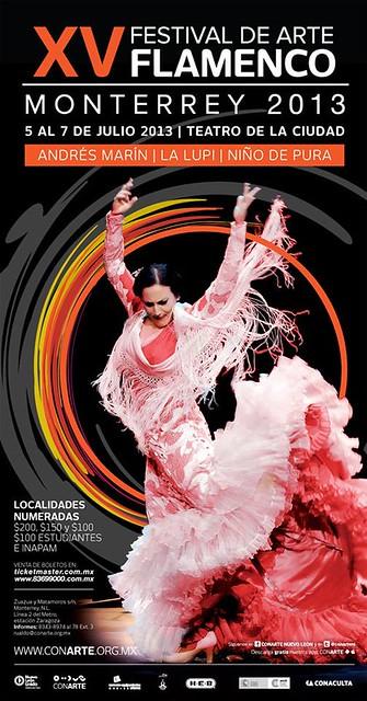 XV Festival de Arte Flamenco Monterrey 2013