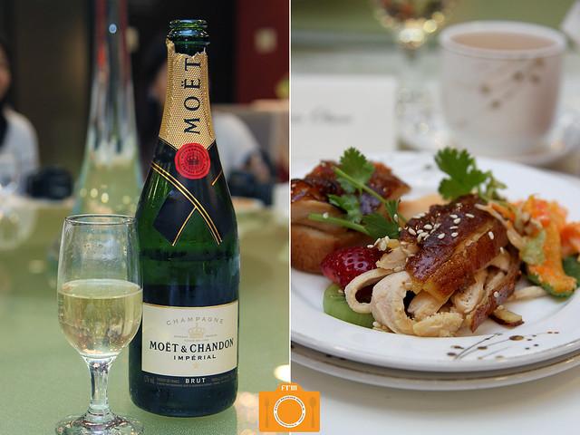 Gloria Maris champagne