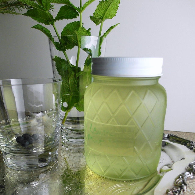Sparkling Berry Mint Lemonade | Flickr - Photo Sharing!