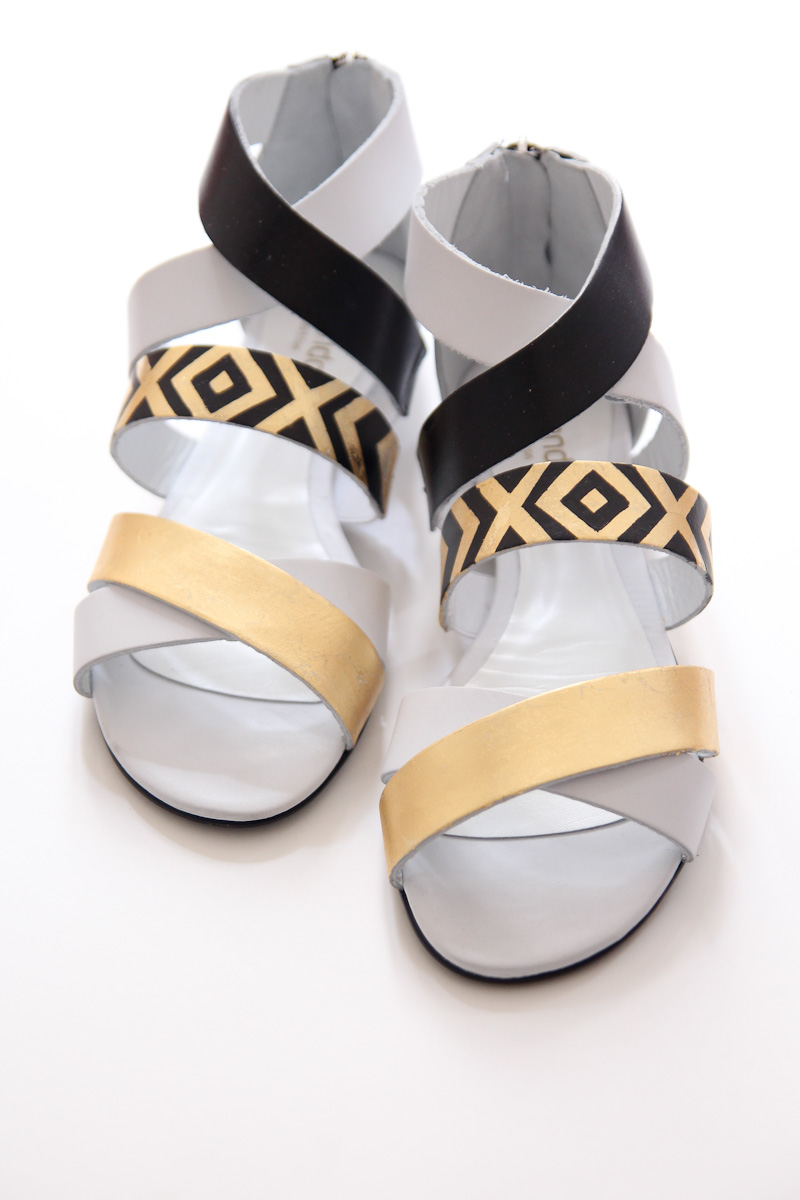 Gatsby DIY sandals