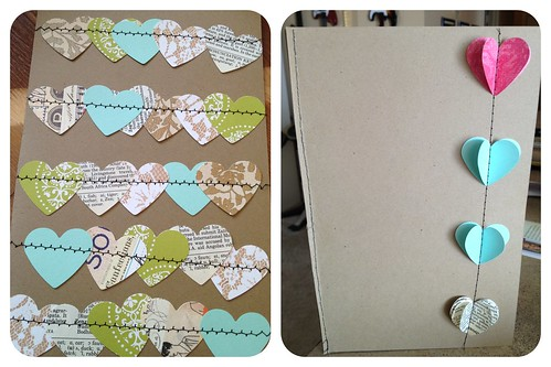 heart cards by Heather Says