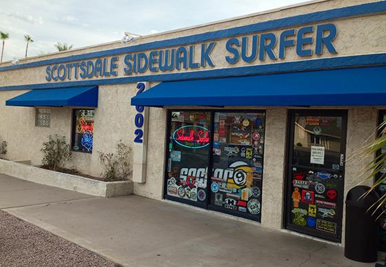 Tim Douds Sidewalk Surfer