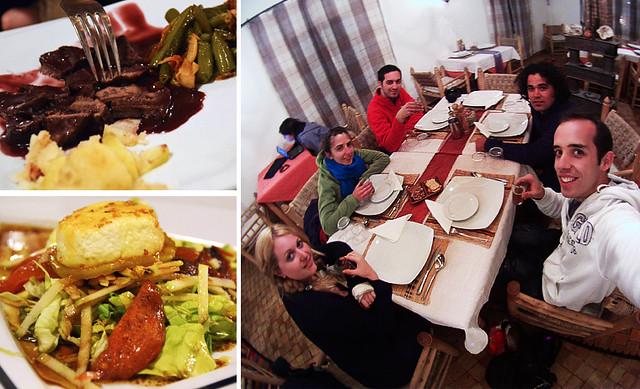 Cenando en Chez Pierre