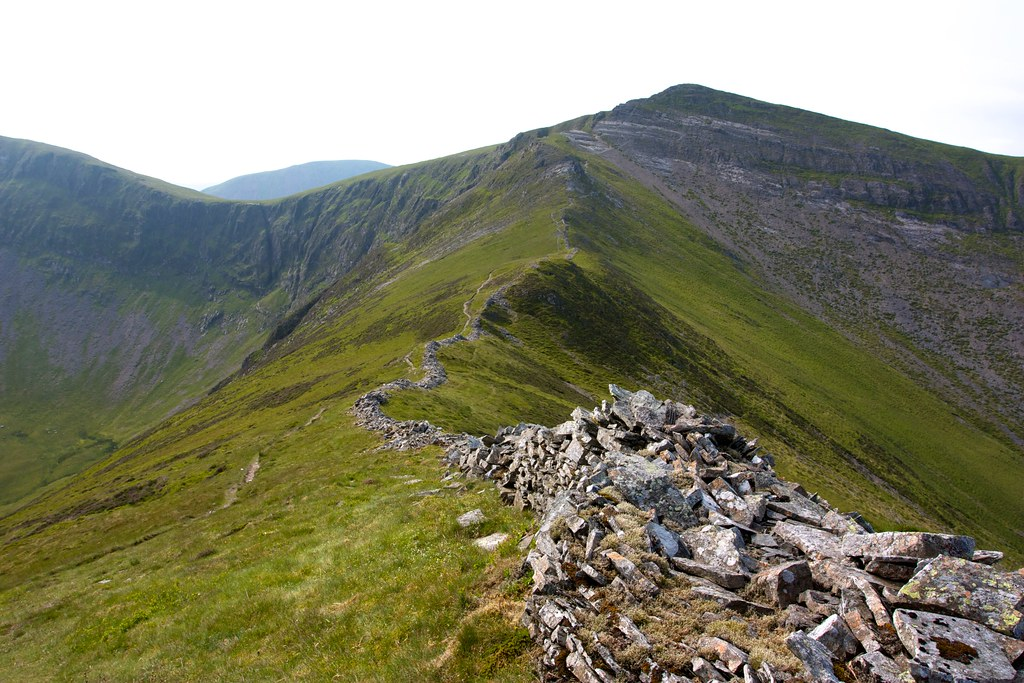 Ridge to Hopegill Head from Ladyside