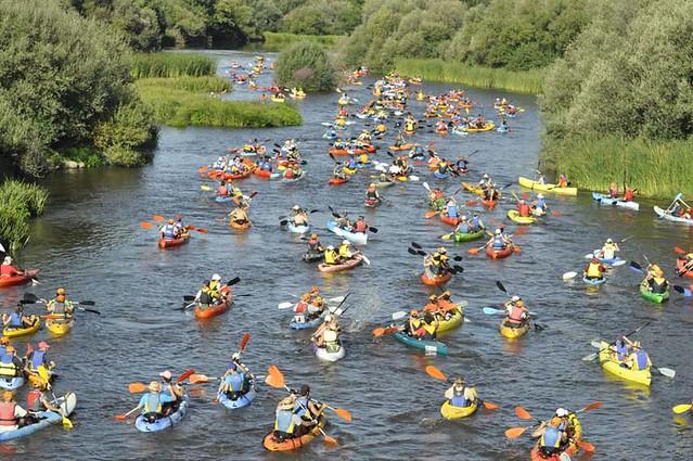 Descenso en canoa del río Alagón