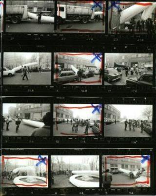 """2011 """"FUORI! – Arte e Spazio Urbano 1968-1976″ Museo del Novecento di Milano"""