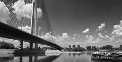 Ada Bridge - The Pilar and The Boats