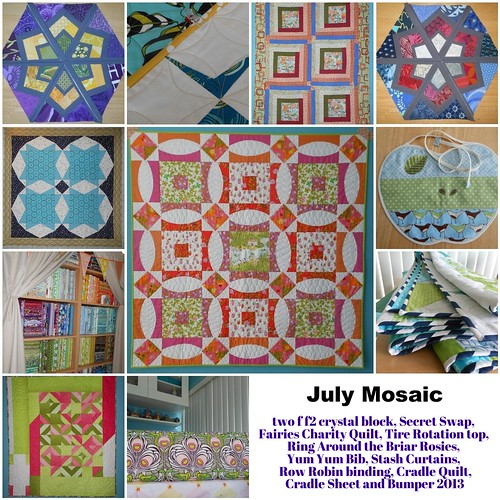 July 2013 Mosaic by capitolaquilter