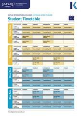 KIC_AUNZ_Student_Timetable