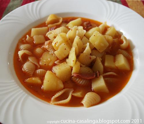 Nudeln und Kartoffeln