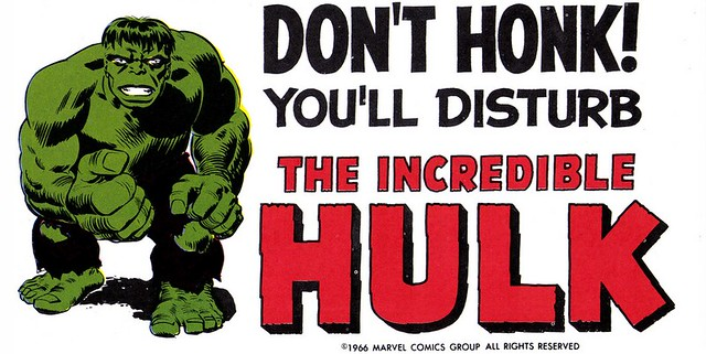 Marvelmania - don't honk the Hulk