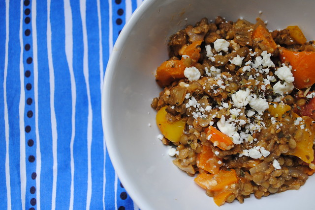 greek lentil casserole