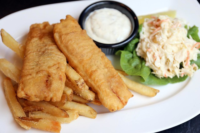 Good Ol' Fish and Chips - using hake, not Pacific dory