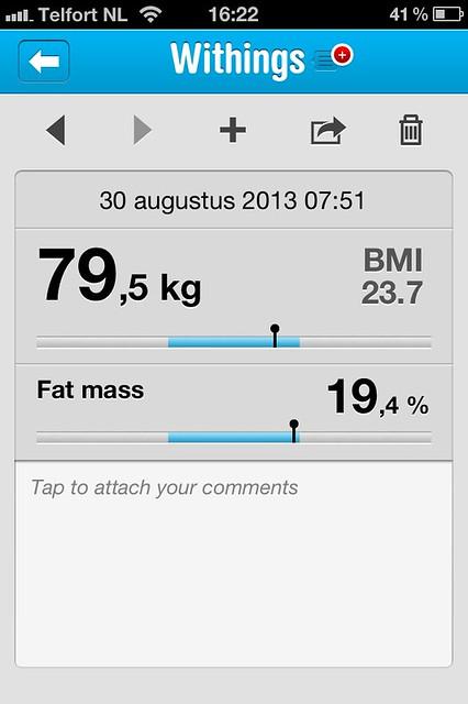 Gewicht van quantifiedjan