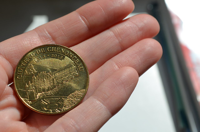 Chateau de Chenonceau 500 year anniversary coin