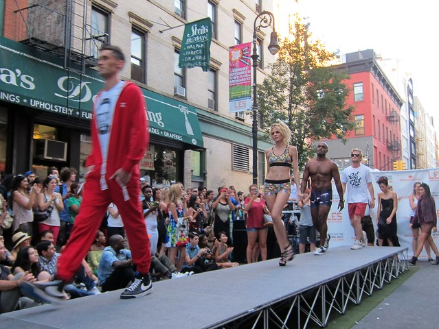 LES Opening Night 2013: Orchard Street Block Party, Looks of LES Fashion Show