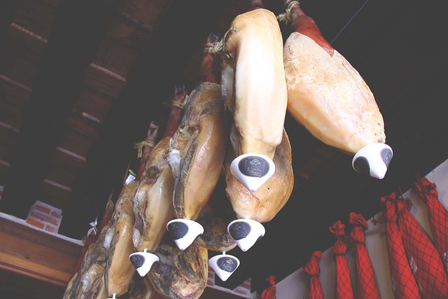 Jamon Hanging in Castilla