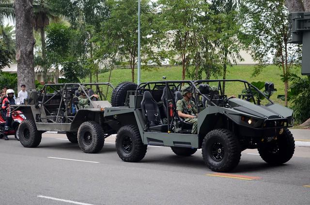 Singapore Army Light Strike Vehicles