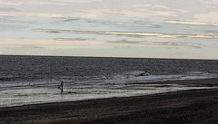 Easington Beach SPURN photoshop 2 by davidearlgray