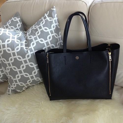 安·泰勒  Gallery黑色手提袋