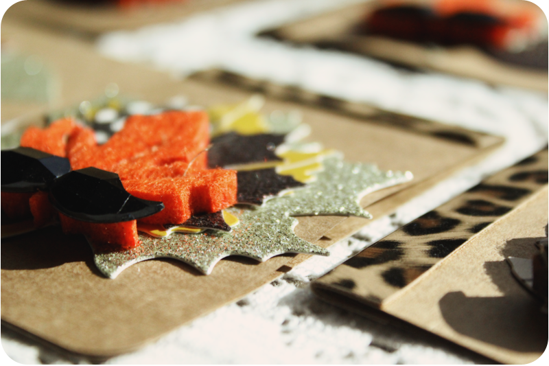 {fall cards} here's to colorful leaves | layers