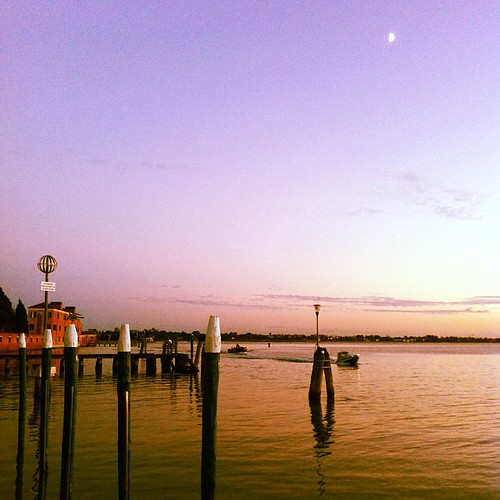 Magic hour in San Servolo Island, Venice.