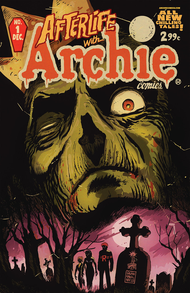 Afterlife with Archie comic zombie