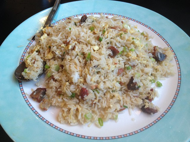 Bbq pork fried rice - Makli Chinese Cuisine