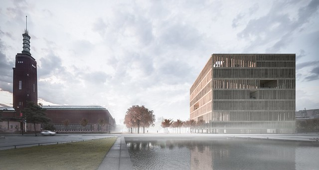 Collectiegebouw Boijmans - Koen van Velsen