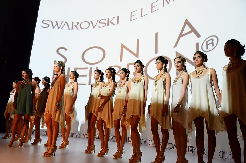 Pasarela SWAROVSKI por Sonia Heilbron - Cali Exposhow 2013