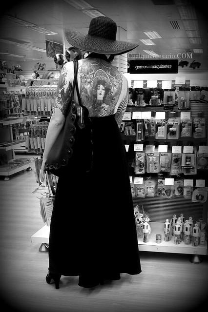 De compras, con estilo