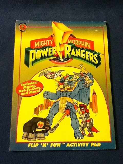 Mighty Morphin' Power Rangers Coloring & Activity Book | Flickr