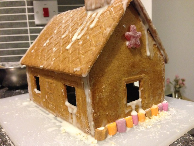 gingerbread house take 1 (flickr)