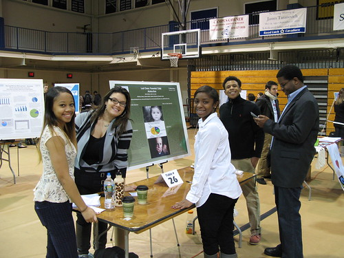 "Cabrini Day ""Lead for Change"" poster presenters"