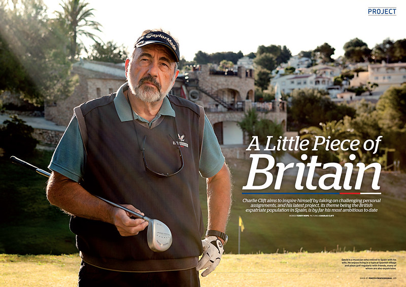 Brits Abroad is featured in Photo Professional magazine