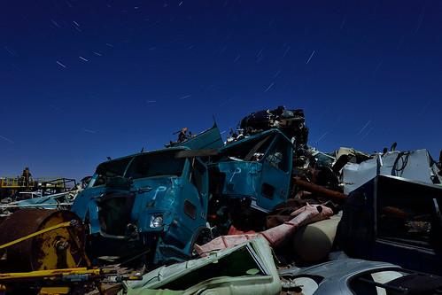 the shredding pit. 2013.